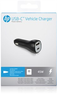 DC to USB-C™ Power Delivery Vehicle Charger