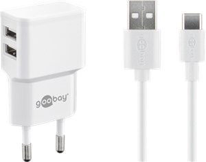 USB-C™ charger set 2.4 A