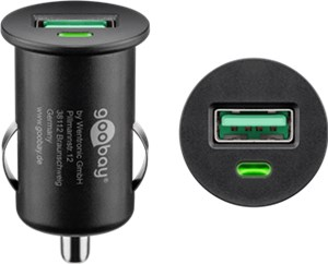 Quick Charge™ QC3.0 USB car fast charger
