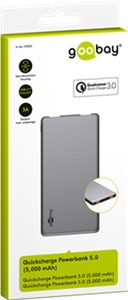 Quick Charge Powerbank 5.0 (5.000 mAh)