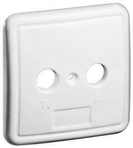2 holes cover plate for antenna wall sockets