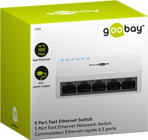 5 Port Fast Ethernet Switch