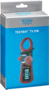 Digital miniature clamp meter TV 218