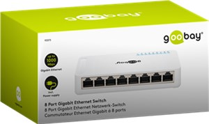 8 Port Gigabit Ethernet Switch
