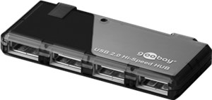 4 port USB 2.0 Hi Speed HUB