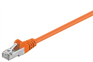 CAT 5e patchcable, SF/UTP, orange