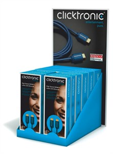 Desk box high-speed HDMI™ cable with Ethernet