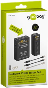 Network cable tester set